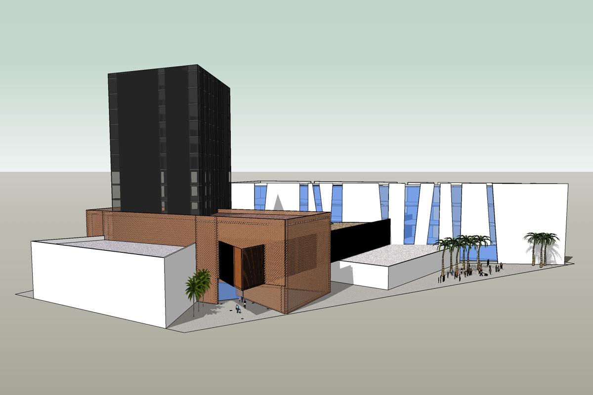 Hôtel et centre commercial Oran (Algerie)